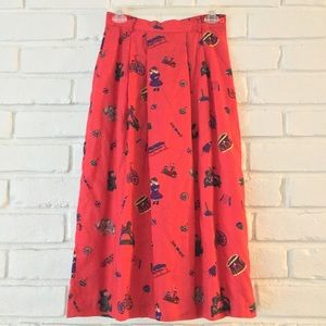 Vintage | Christmas Toy Skirt